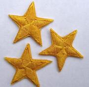Star Sew on Patches