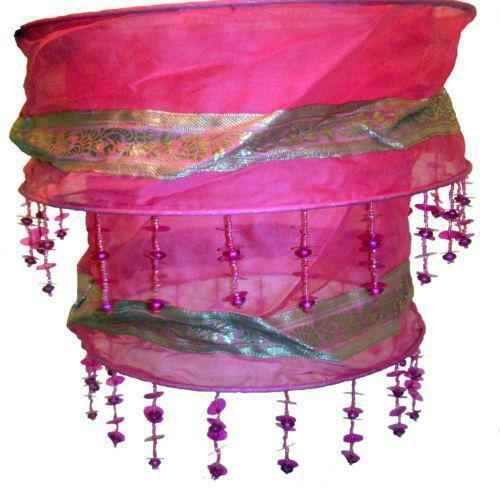 Red Chandelier India: Indian Lampshade