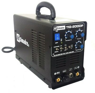Tig Mma Arc Stick Pulse Welder Simadre 110220v 200a Dc Inverter Welding Machine