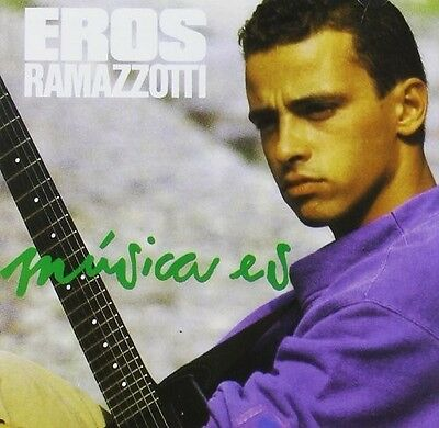 Eros Ramazzotti   Musica Es  En Espanol   New Cd  Portugal   Import
