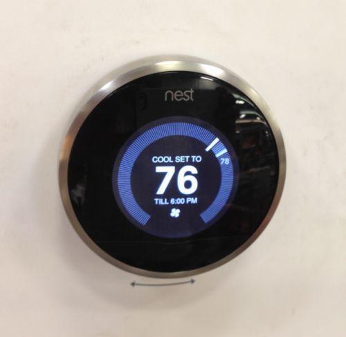 nest learning thermostats ebay. Black Bedroom Furniture Sets. Home Design Ideas