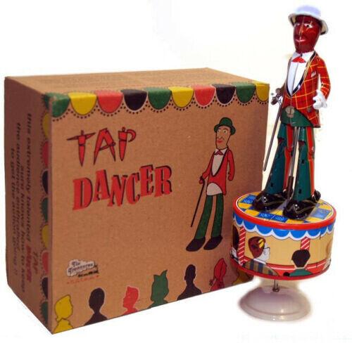 TAP DANCER Tin Toy Wind Up Harlem Sam Jazbo Sammy Dancing Jim Dandy Jig