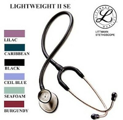 Littmann Lightweight Ii S.e. 28 Stethoscope - 7 Colors - New In Box Warranty