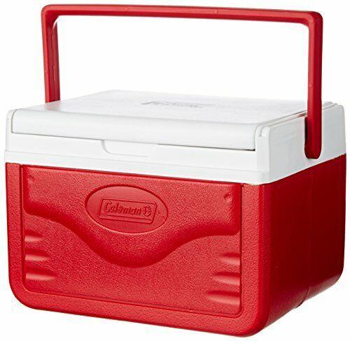 Coleman FlipLid 6 Personal Cooler, Red