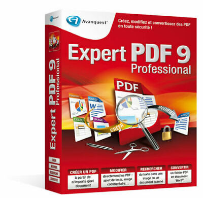 Avanquest Expert PDF 9 Professional Edition | Windows PC ⭐ Digital Download ⭐