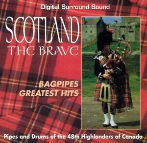 """Scotland The Brave"" - 48th Highlanders Of Canada CD. Rare!"