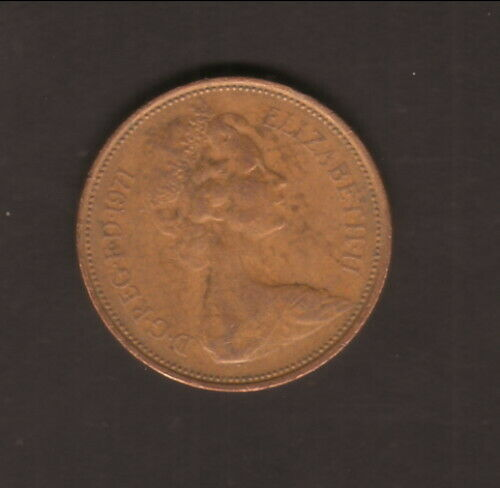 Great Britain--1971--2 Pence
