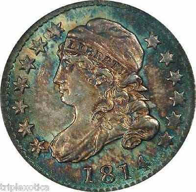 Click now to see the BUY IT NOW Price! 1814 NGC MS 66  10C. CAPPED BUST DIME JR 2   FINEST KNOWN FOR VARIETY