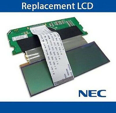 NEC Aspire Phone Replacement LCD Display Screen Button 22B 34B HF/DISP Refurb 34 Button Lcd Telephone