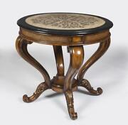 Round Foyer Table