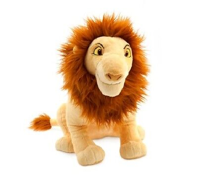 Simba The Lion King Large Soft Toy - Official Disney -44cm Tall - New & Tagged