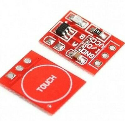 Ttp223 Capacitive Touch Switch Button Self-lock Module Sensor For Arduino Rpi