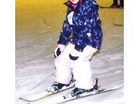 Girls Ski Jacket and Trousers / Salopettes / Ski Pants.