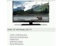 Led tv 240v and 12v suitable for caravan
