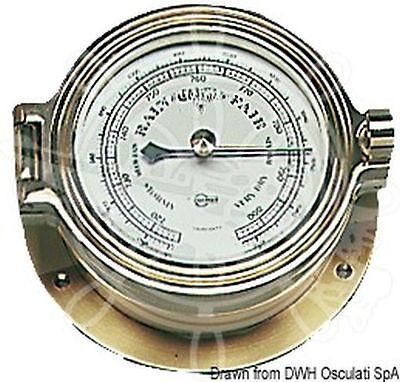 BARIGO Poseidon Series Barometer Boat Marine 120x35mm