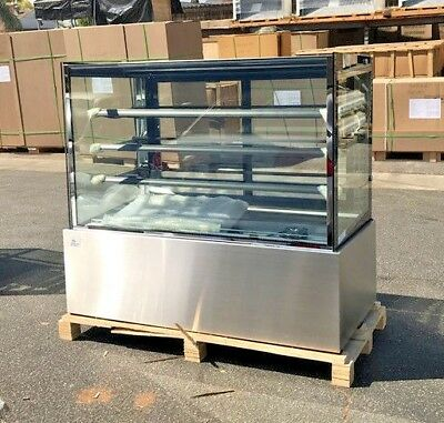 New 60 Bakery Deli Refrigerator Model Rc-5f Cooler Case Display Fridge Nsf