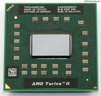 AMD Turion II Dual-Core Mobile P540 2.4GHz LP TMP540SGR23GM Laptop - Amd Mobile