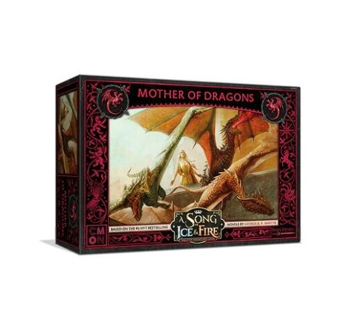 Targaryen Mother of Dragons A Song of Ice & Fire ASOIAF Miniatures CMON