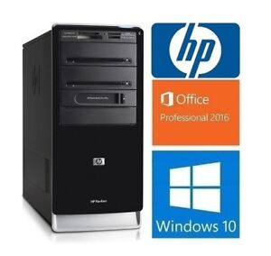 hp desktop HPE-510f: 6 cores 2.8GHZ, 8GB RAM, 750GB, WIFI: 185$