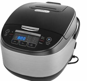 Insignia Rice Cooker - 5.2Qt like new in box (no steamer basket)