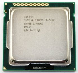 Intel Core i7 - 2600 3.4 GHz