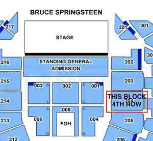 Bruce Springsteen Wed 25th Jan Yanchep Wanneroo Area Preview