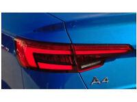 Audi a4 s4 b9 dynamic led tailights 2016 2017