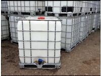 Oil tank ibc cube water storage