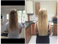 Qualified Hair Extensionist