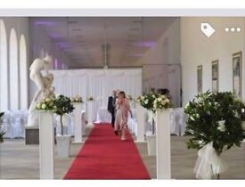 2 WEDDING PILLARS (6 available)