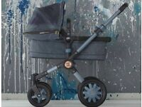 Denim diesel bugaboo buffalo pram now reducuced to £550 ******