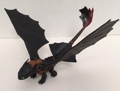 Toothless How To Train Your Dragon Action Figure Catapult Tail Flapping Wings
