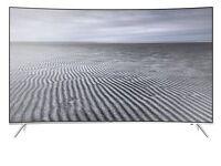 Samsung 43' curved smart tv/ ASAP