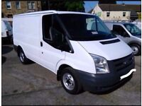 FORD TRANSIT VAN SWB 2008 X2 READY FOR WORK OPEN TO OFFERS DRIVE AWAY FULL SERVICE HISTORY OFFER