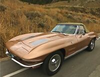 RARE 1963 corvette convertible stingray