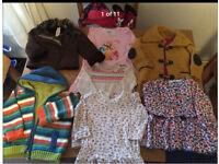Bundle of Spring clothes for girl 12-18Months