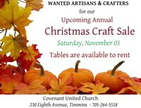 Annual Christmas Craft Sale