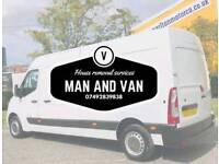 Man and van houae removals