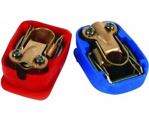 Quick-Release-Battery-Terminals-Clamps-12V-Pair-Car-Caravan-One-Motorhome