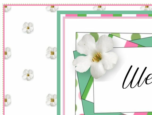 Petals All Around eBay Auction Listing Template