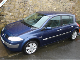 Renault Megane. Dynamique 16v. Late 2005 on Private Plate. 9 Months MOT.