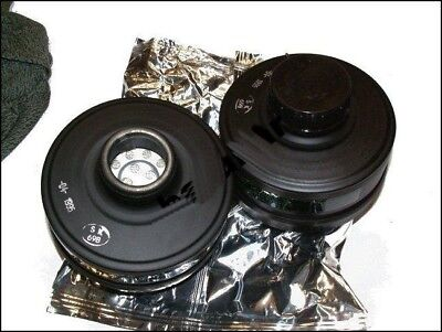 NEW MODERN  GAS MASK FP-5 FILTER 40MM  NBC USED  IN MOST MODELS MASK