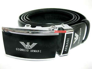 New-Business-A0110-Genuine-Leather-D-g-Mens-Black-belt