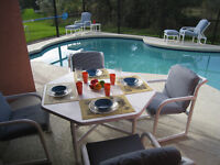 NEAR DISNEY!! HOME WITH YOUR OWN PRIVATE POOL, Wifi!! Clean!!
