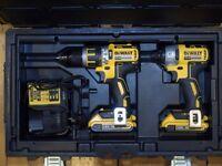 Dewalt Brushless Combi Drill & Impact Driver (DCD795 & DCF886) + 2Ah Batteries