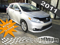 2011 Toyota Matrix S 72,000KM MAGS/MP3/CELL COMME NEUF! WOW!