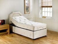 Electronic adjustable single bed
