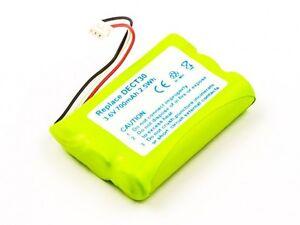 1-x-Batteria-per-Agfeo-Dect-30-35-C45-Elmeg-DECT-300-700-mAh