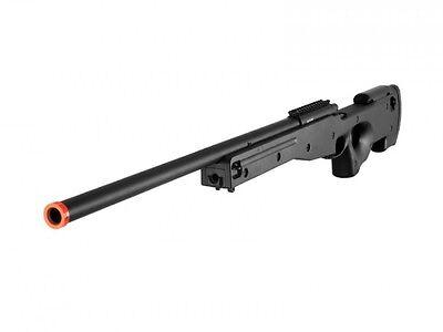 Agm Metal - Airsoft AGM 470 FPS AWP L96 Airsoft Sniper Rifle Bolt Action Metal Gun Black