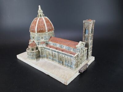 Cathedral Florence Italy Travel Souvenir Model 8 11/16in Church New